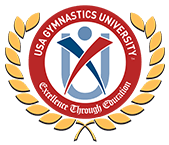 USA Gymnastics University Logo